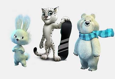 Олимпийские талисманы Талисманами Игр в Сочи стали Зайка Белый Мишка и Леопард И как часто случается во время выбора талисмана этому событию предшествовала долгая история