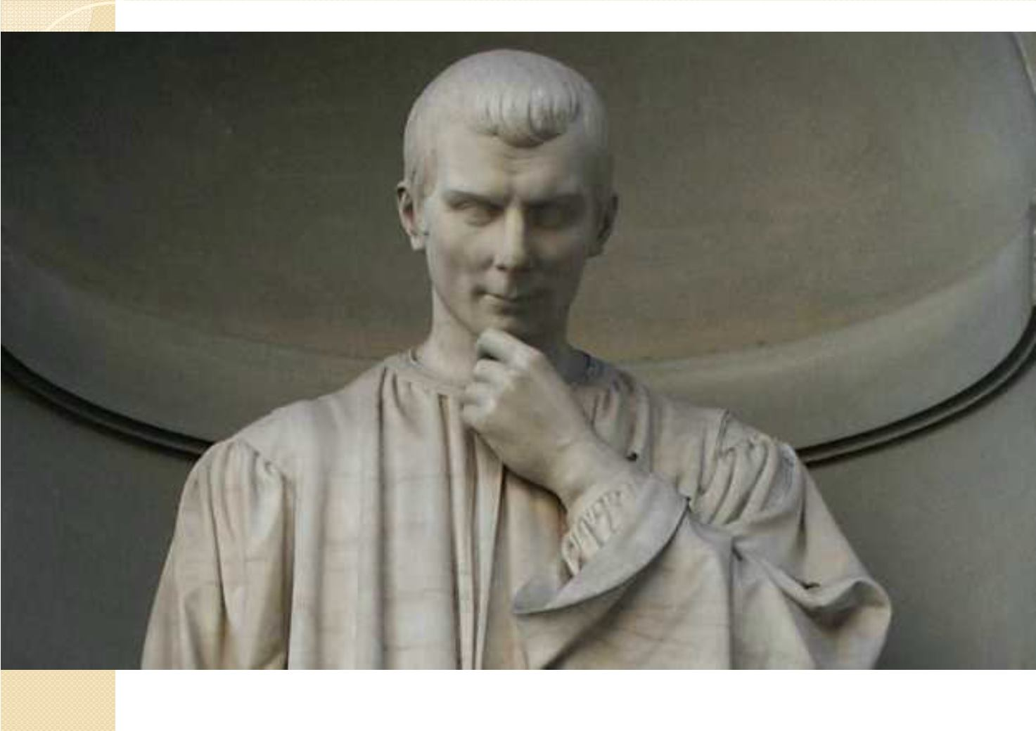 political philosophy and machiavelli 4 essay Hobbes' and machiavelli's political philosophy are still used and utilized at the present day because of their good insight in the role of government and morality in society machiavelli and hobbes, in their essays.